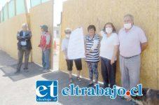 Vecinos de los Departamentos Encón, se manifestaron en contra de la construcción de la Plante de Revisión Técnica.
