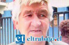Jorge Gatica Gallo padre del joven asesinado.