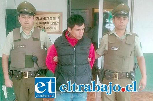 Osvaldo Alexander Fredes Fernández, apodado 'El Lelo', fue derivado hasta la cárcel de manera preventiva por los casos que investigará la Fiscalía.