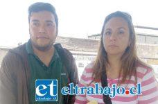 Pamela Donoso y Carlos Muñoz, denuncian haber sido «estafados» por empresa sanfelipeña Piscinas Aconcagua Ltda.