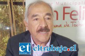 El Alcalde Patricio Freire expresó su rechazo al proyecto por el peligro que conlleva para el bienestar de los habitantes del Valle de Aconcagua.