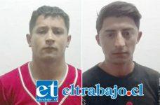 Los imputados Segundo Javier Ramírez Delgado y Eduardo Enoc Páez Pino fueron acusados del delito de robo con violencia ocurrido en Skate Park de San Felipe.
