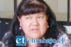Verónica Ossandón Cartes, coordinadora técnico-pedagógica comunal del Daem San Felipe.