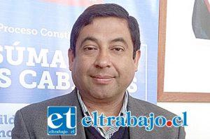 Gobernador (s) provincial de Los Andes Alonso Retamales.