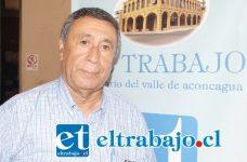 Carlos Lértora Toro, secretario Asociación de Pensionados (Exseguro Social) de San Felipe.