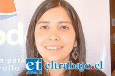 Delegada biprovincial del Servicio de Vivienda y Urbanismo (Serviu), Natalia Ríos.