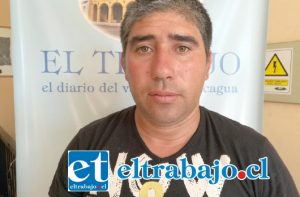 Cristian Antonio Ibaceta Farías, cuñado del imputado que se encuentra actualmente en la cárcel.