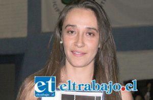 Dayana Muñoz Fernández, vecina animalista de Santa María que hace pocas semanas fue premiada por su labor animalista.