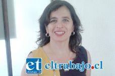 Doctora Andrea Rodríguez, directora del Cesfam San Felipe El Real de San Felipe.