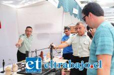 Distintos productos, pudieron comprar las personas que se acercaron hasta los dos stands con que contó el CCP en la Expo Emprendimiento de Aconcagua.