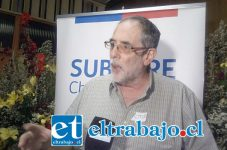Víctor Leiva Romero, jefe del Departamento de Estudios y Evaluación de la Subsecretaría de Desarrollo Regional, Subdere Valparaíso.