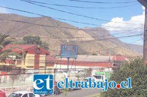 Cantera de Maicillo en el cerro Altos de Llay Llay, será el lugar desde donde se lanzarán los Fuegos Artificiales para recibir el 2017.