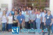 Cesfam Curimón, fue el mejor evaluado en Calidad de Trato al Usuario a nivel Regional, tras encuesta realizada por la Universidad de Chile, a encargo del Ministerio de Salud.