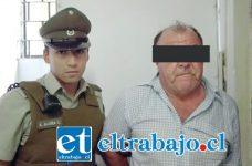 El imputado detenido por Carabineros, fue derivado hasta tribunales para ser formalizado por la Fiscalía bajo los cargos de violación que será investigada por la Brigada de Delitos Sexuales de la PDI.