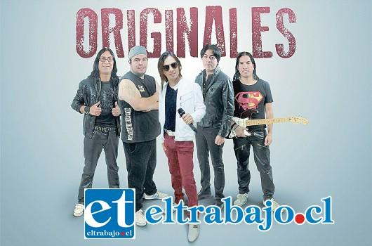 ORIGINALES.- En esta agrupación este artista sanfelipeño también hizo de las suyas con otros músicos del país.
