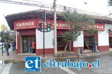 Delincuentes ingresaron a local Carnes Kar ubicado en calle Maipú esquina Tres Carrera, donde rompieron la caja de fuerte y sustrajeron más de 2 millones de pesos en efectivo.