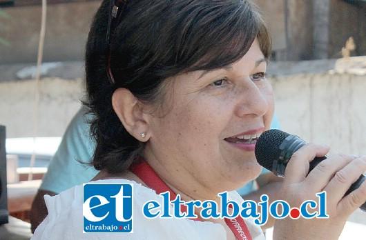 Marcia Orellana, directora de Correos Chile San Felipe, y gestora de esta iniciativa.