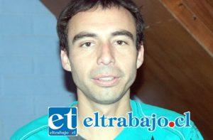 Presidente del Club Juventud La Troya, Mauro Mondaca Escobar.