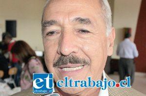 Alcalde de la ciudad de San Felipe, Patricio Freire Canto. (Foto archivo).