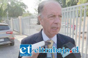 Abogado querellante del Consejo de Defensa del Estado, Juan García Bilbao.
