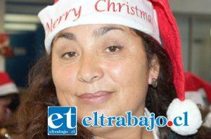 Doña Rosario Muñoz, monitora de salud.