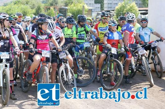 Más de 140 personas participaron en el campeonato organizado por el Club San Felipe Bike y que contó con el apoyo de la Municipalidad de San Felipe.