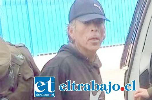 En abril de este año el antisocial fue capturado por Carabineros, tras el robo cometido al interior de la Escuela 62 en San Felipe.