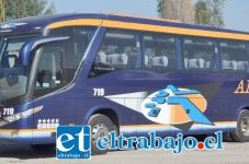 Empresa de Buses Ahumada, deberá adaptarse a la nueva logística de salida de la ciudad.