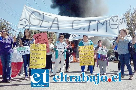 La indignación contra la empresa GEA es general debido al daño que causa a los vecinos del sector.