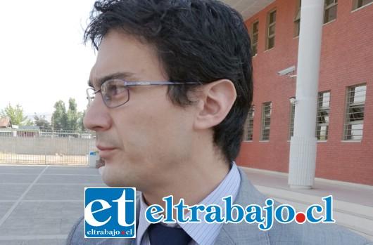 Fiscal de Delitos Sexuales, Alejandro Bustos Ibarra.