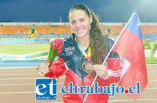 La balista sanfelipeña Natalia Duco fue elegida la mejor atleta de Chile por el Circulo de Periodistas Deportivos.