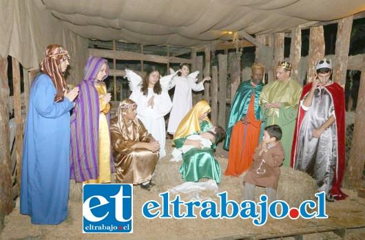Algo muy similar a la imagen es lo que el Colegio Alonso de Ercilla pretende recrear para la comunidad de San Felipe.