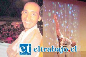 Juan Francisco Sánchez Campos (Giovanni) fue un destacado profesional de la danza en San Felipe y Los Andes.