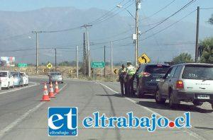 La intensa fiscalización de Carabineros durante el inicio de 2017 dejó más de 20 personas detenidas por conducir en estado de ebriedad y bajo la influencia de alcohol.