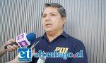 Jefe de la Brigada de la PDI de Los Andes, comisario Gino Gutiérrez Cáceres.