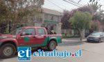 El delincuente habría ingresado hasta la Asociación Chilena de Seguridad (Achs) ubicada en calle San Martín 120 en San Felipe.
