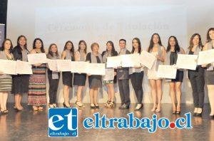 Los nuevos profesionales pertenecen en su mayoría a los servicios públicos y municipalidades de las diferentes comunas del Valle de Aconcagua