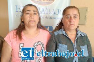 Betsy y Carolina sufren el proceso de ver a sus hijos encerrados en la cárcel, pidiendo perdón a las víctimas por el daño causado.