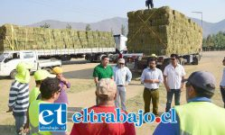 La campaña buscaba reunir la mayor cantidad de fardos de alfalfa posible, para ir en ayuda de la pequeña agricultura familiar campesina de las zonas que han sido afectadas por los incendios.