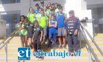 La delegación de la Escuela Infantil de Atletismo de Llay Llay cumplió una destacada actuación en el estadio Elías Figueroa de Valparaíso.