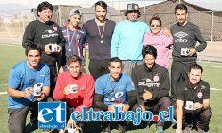 La familia de Pablo Apablaza León (Q.E.P.D.) junto a los profesores de la Escuela de Fútbol del Uní, se preocuparon de todos los detalles para que el torneo fuera impecable.