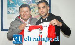 El experimentado defensor central, Nicolás Suárez, es desde ayer un nuevo jugador del Uní Uní.