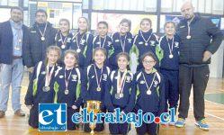 El conjunto menor de 12 años de San Felipe Volley ganó con categoría el clasificatorio jugado en la ciudad de Victoria.