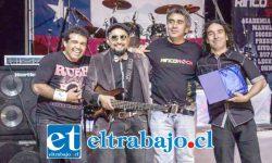 Estos son los integrantes de la banda La Cayetano que hoy estará celebrando sus siete años de existencia.
