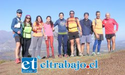 Los integrantes de Aconcagua Trail Running buscarán estar dentro de los mejores del Trail que este sábado tendrá lugar en Putaendo.