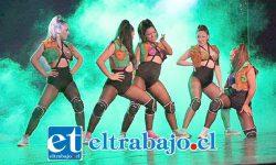 TALENTO JUVENIL.- Ellas son las tremendas chicas bailarinas del Club de Ballet de Cabildo, quienes alegrarán San Felipe este sábado con su explosiva propuesta.
