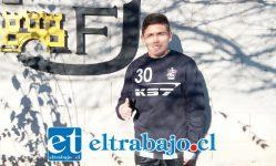 El joven jugador formado en Santiago Wanderers, Jimmy Cisterna, llegó a reforzar a Unión San Felipe.