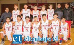 San Felipe Basket se coronó como el mejor de la serie U13 de la Libcentro Menores.