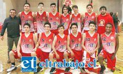 San Felipe Básket fue segundo en el cuadrangular final de la Libcentro U15 jugado en Concepción.