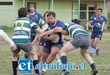 El quince aconcagüino jugará la gran final de la Copa de Oro de la Asociación de Rugby de Santiago.